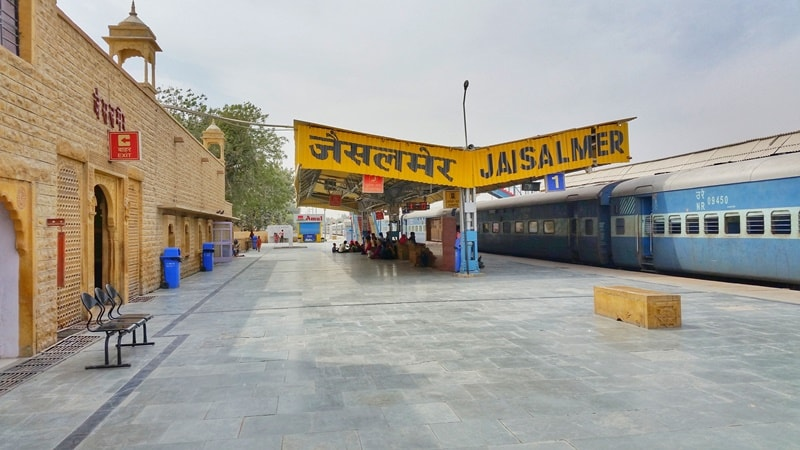 Jodhpur to Jaisalmer by train: Getting to Jaisalmer. Itinerary for Rajasthan, India