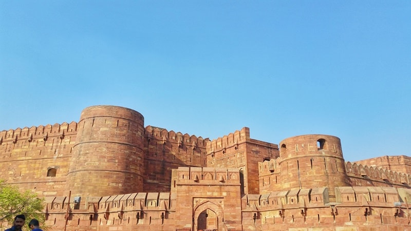 One day in Agra, itinerary: Agra Fort, UNESCO world heritage site. Best places to visit in Agra, Golden Triangle, India