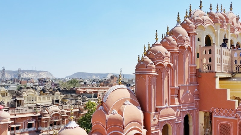 Palaces in Jaipur in one day: Rajasthan palaces, India
