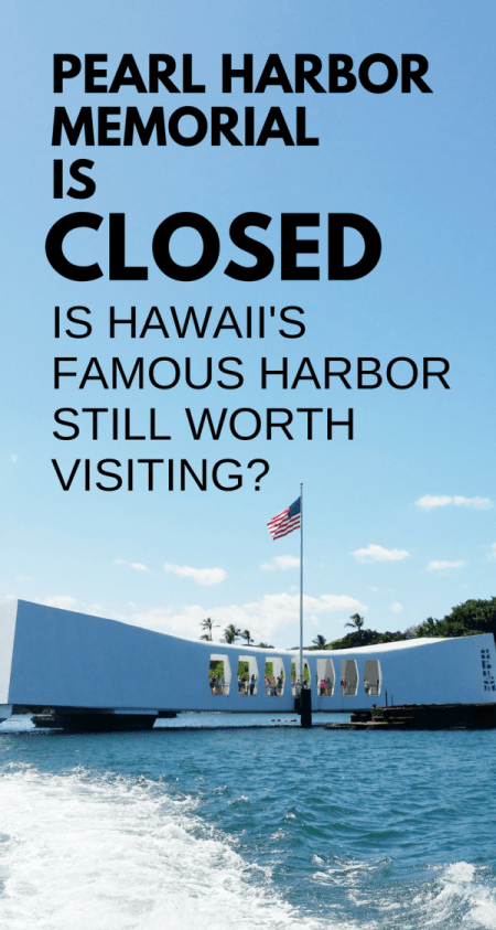 Pearl Harbor Memorial is closed. Is Pearl Harbor worth visiting? What's open? Lots of free things to do at Pearl Harbor! Oahu, Hawaii