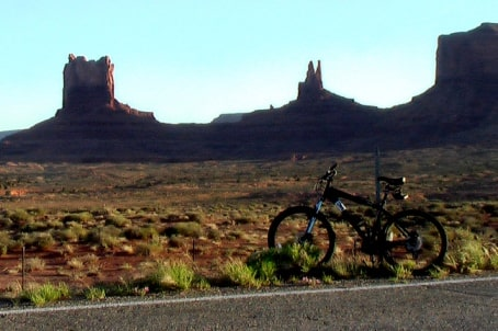 Biking in Arizona USA
